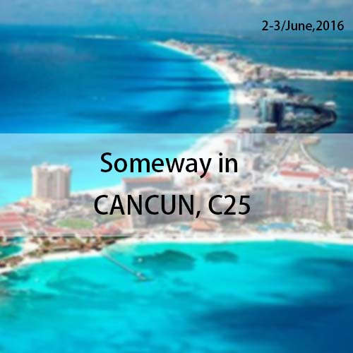 Imaging Summit & Expo Americans in CANCUN.Mexico 2-3/June,2016. Someway booth C25.